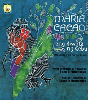 Book Cover of Maria Cacao, Ang Diwata ng Cebu