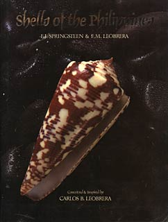 Book Cover of F.J. Springsteen and F.M. Leobrera: Shells of the Philippines