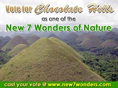 Vote for the Chocolate Hills