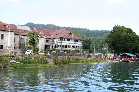 Loboc Church from the River