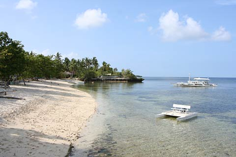 Beach on Cabilao Island