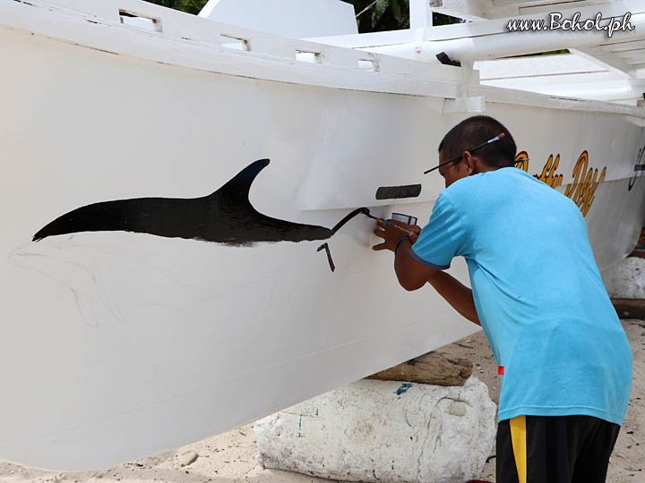 Painting your boat