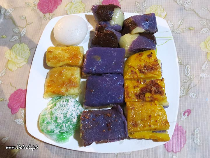 Mixed Filipino Desserts