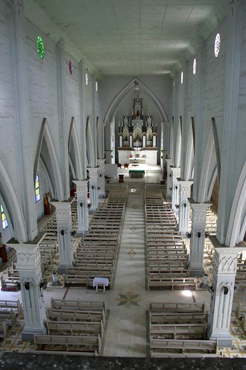 Calape Church Interior