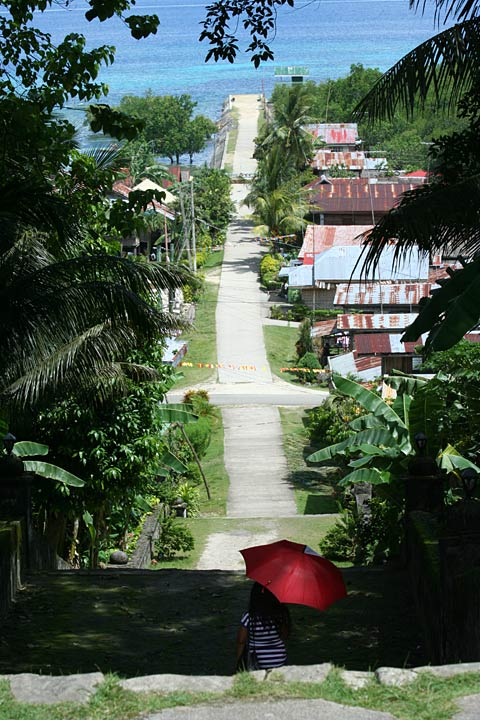 Inang-Angan seen from above