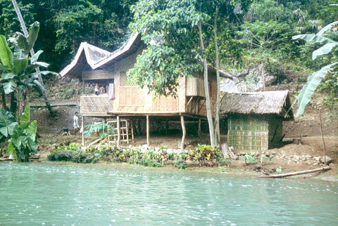 House at the Loboc river