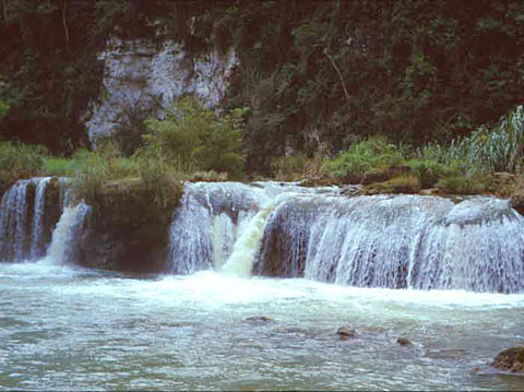 Busay Falls on Loboc River