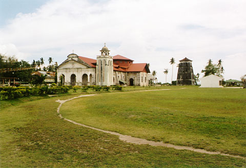 Panglao Church and Watchtower