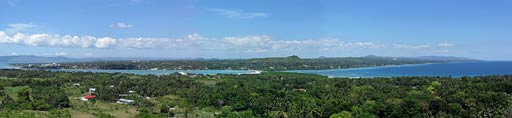 Panorama from Bohol Vantage Resort