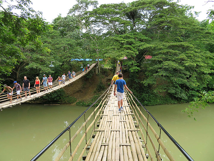 Image result for bohol hanging bridge