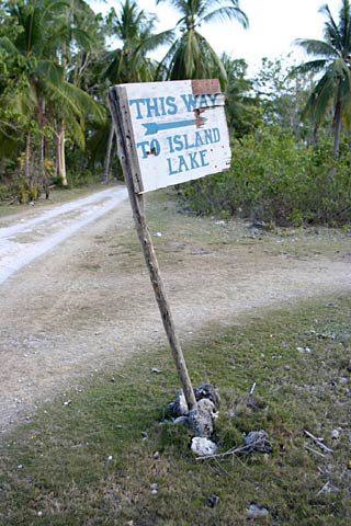 This way to Island Lake