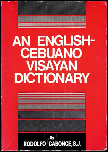 Cebuano Dictionary