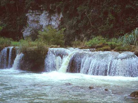 Busay Falls On Loboc River