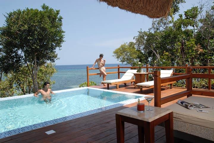 Pool At Eskaya Beach Resort