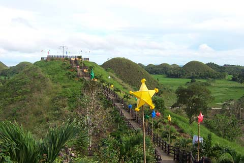 Sagbayan Peak During Christmas Time
